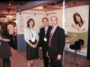 Celebros Sales Team at Internet World 2008